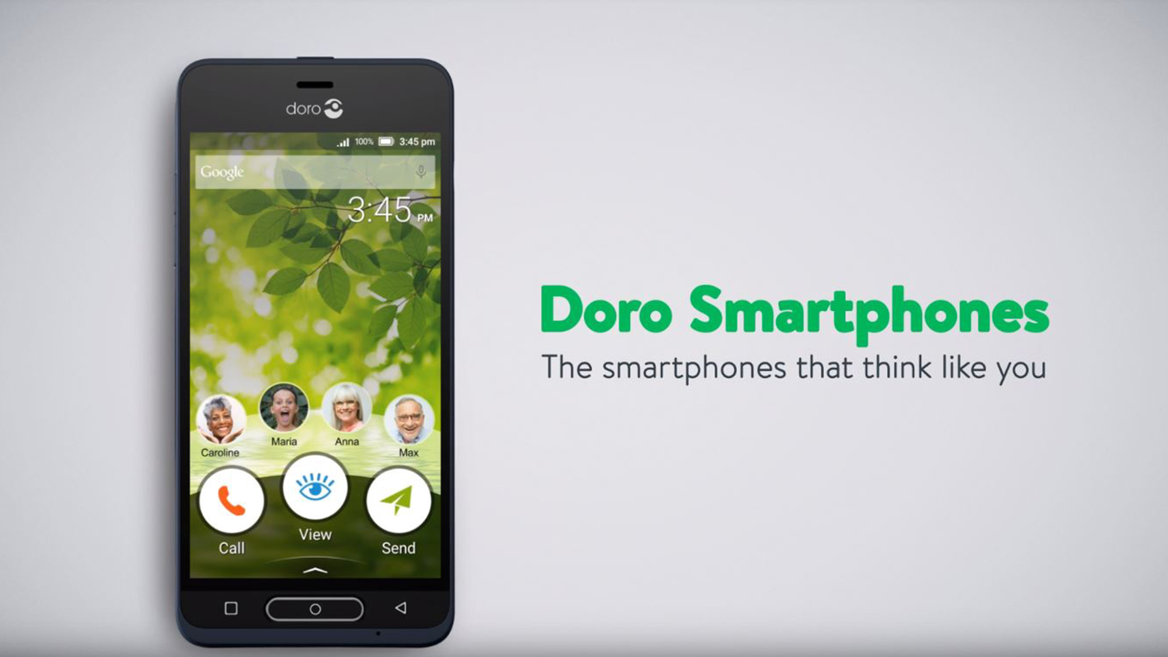 video about doro phones functions