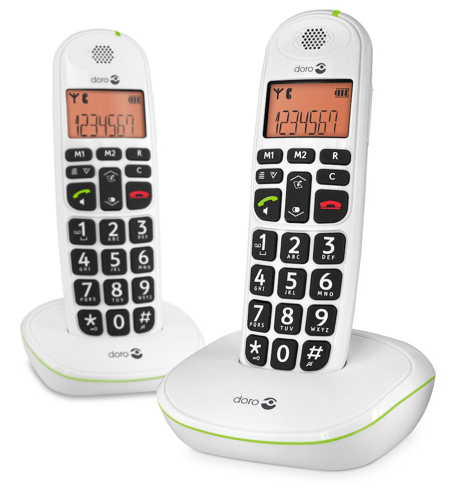 Doro PhoneEasy 100w white duo