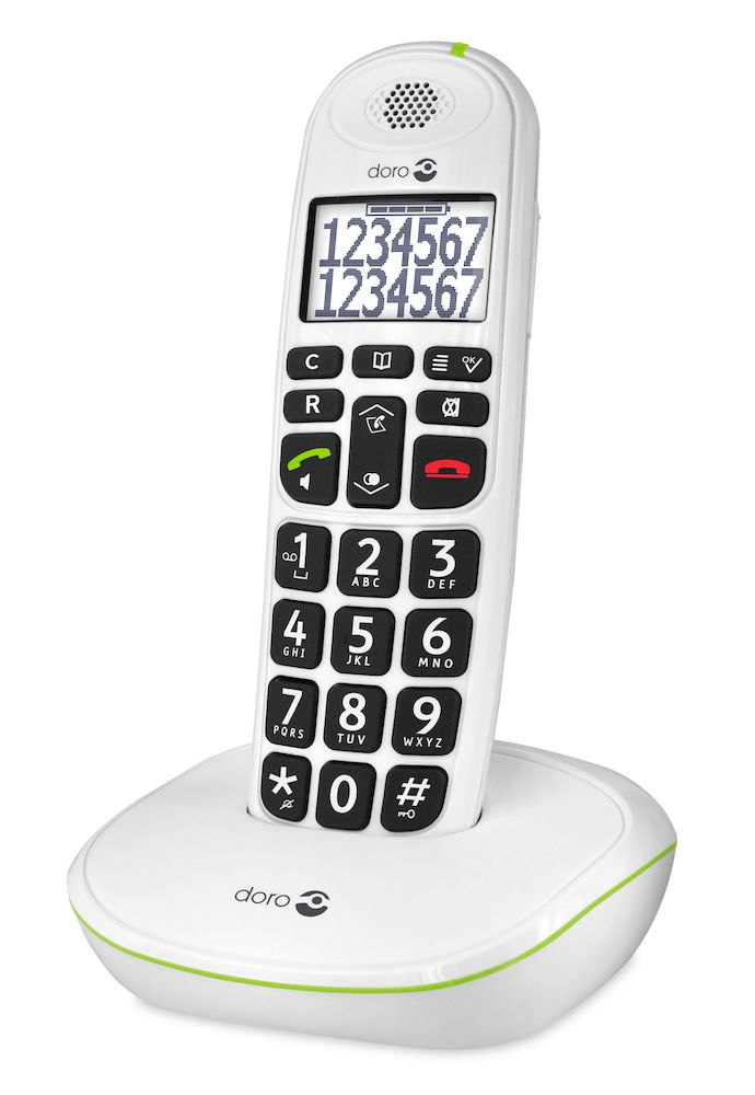 Doro PhoneEasy 110  white right