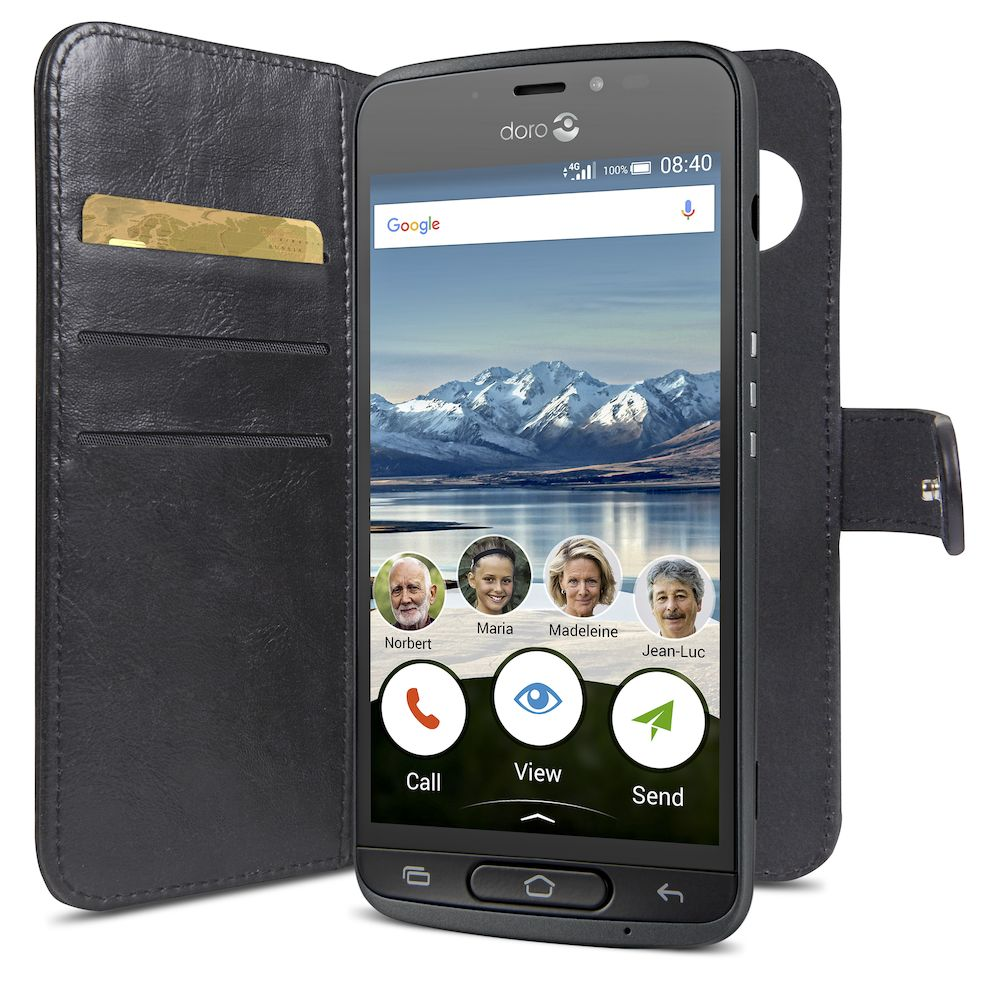 Wallet Case DORO 8040-8042 phone loading right